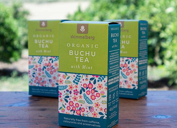 Organic Buchu Tea with Mint