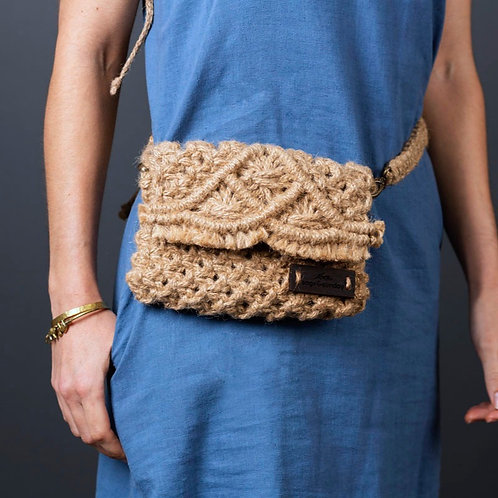 Rooibossie Utility Bag | Macrame | Hand Woven
