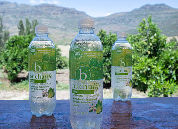 Buchulife Sparkling Herbal Water Lime