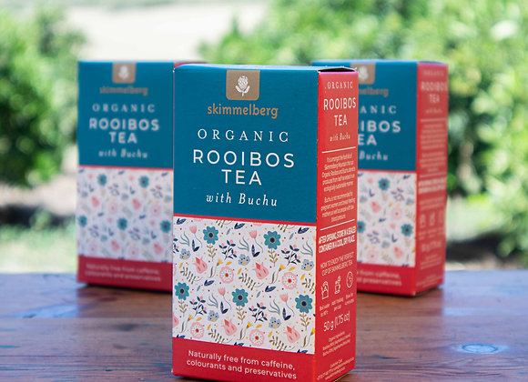 Skimmelberg Organic Rooibos Tea with Buchu