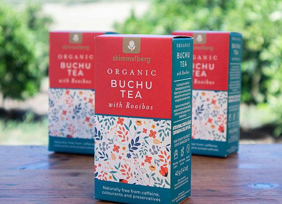 Skimmelberg Organic Buchu Tea with Rooibos