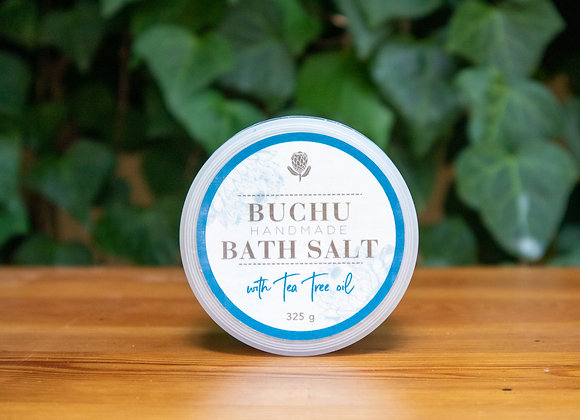 Buchu & Tea Tree Oil Bath Salt