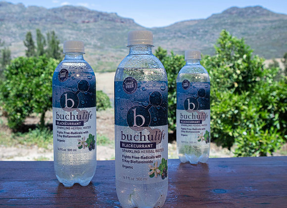 Buchulife Sparkling Herbal Water Blackcurrant