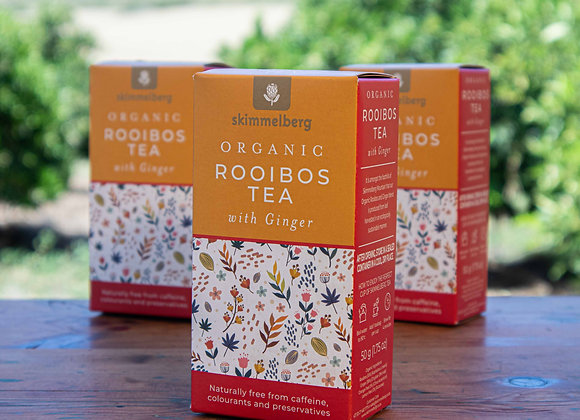 Organic Rooibos Tea with Ginger