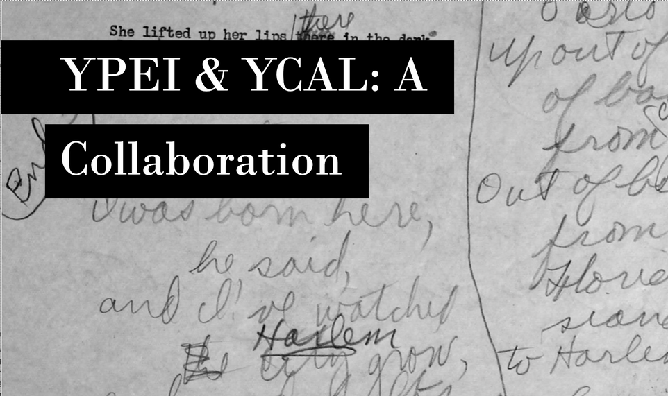YPEI Collaborates with Beinecke Library's Collection of American Literature