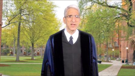 President Salovey Highlights Yale Prison Education Initiative in GSAS Matriculation Address