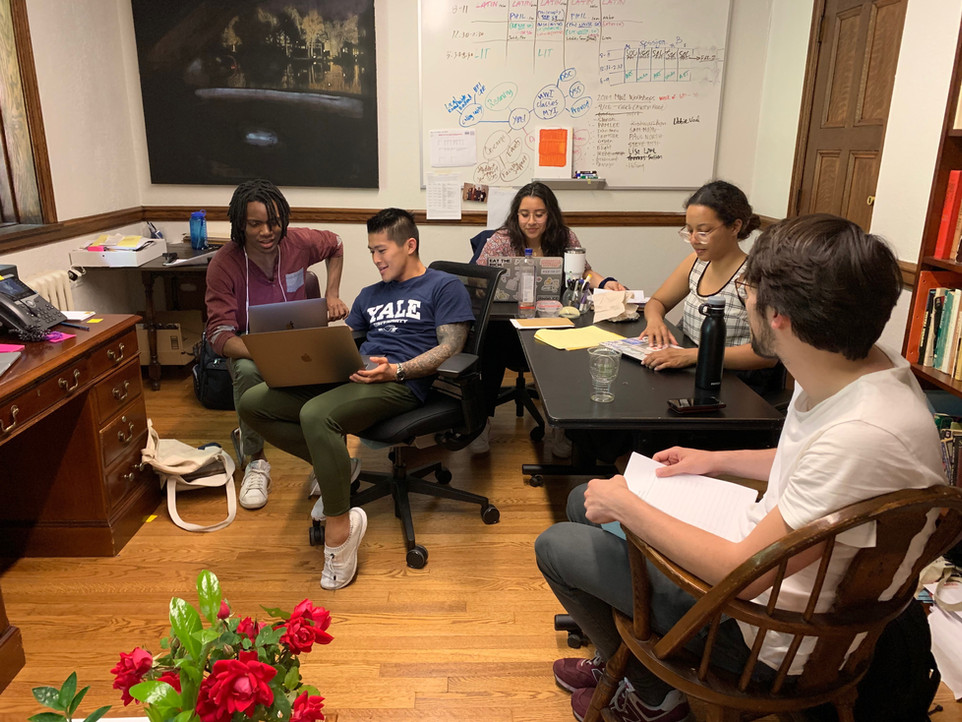 YPEI Welcomes a Cohort of Four Yale Undergraduate Summer Fellows