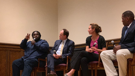 """YPEI hosts packed screening of PBS """"College Behind Bars"""" at Yale's Whitney Humanities Center"""