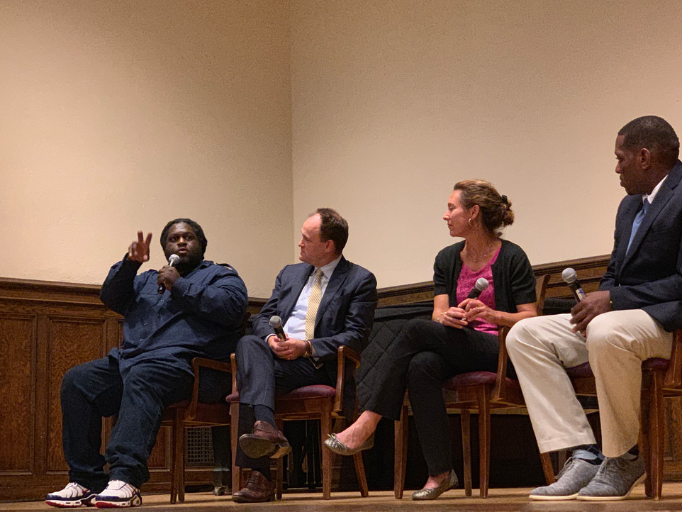 "YPEI hosts packed screening of PBS ""College Behind Bars"" at Yale's Whitney Humanities Center"