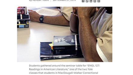 """""""Prison Education Initiative brings liberal arts to incarcerated students"""""""