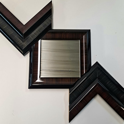 Wood & Mirror Art 6