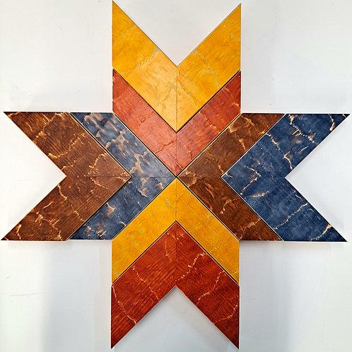 Original Star Wood Art 21