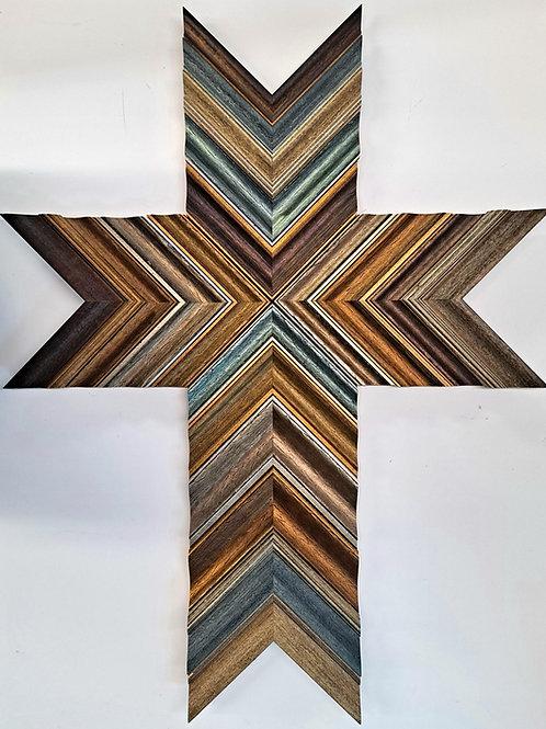 Original Cross Wood Art 22