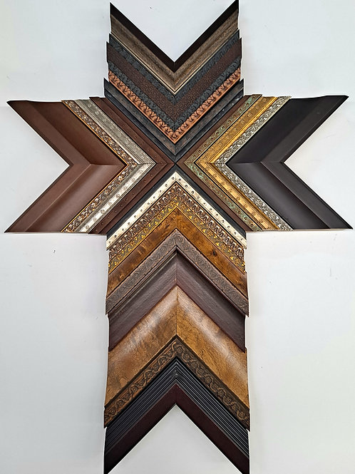 Original Cross Wood Art 16