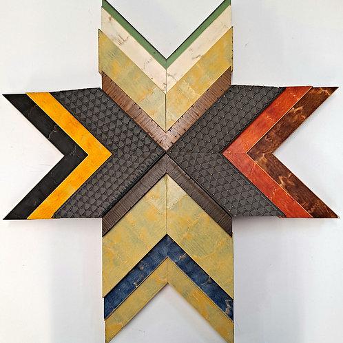 Original Wood Star Art 14