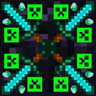 Minecraft Mandala