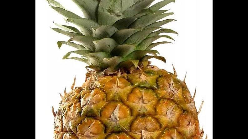 2 fresh Maui sweet Pineapples