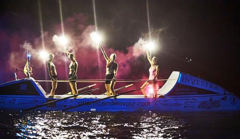 Rowing the Atlantic Ocean