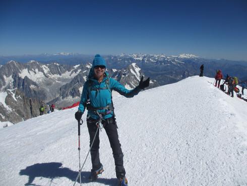 Mont Blanc, the White Mountain