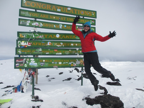 Kilimanjaro - the roof of Africa