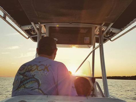 The best days of owning a boat.