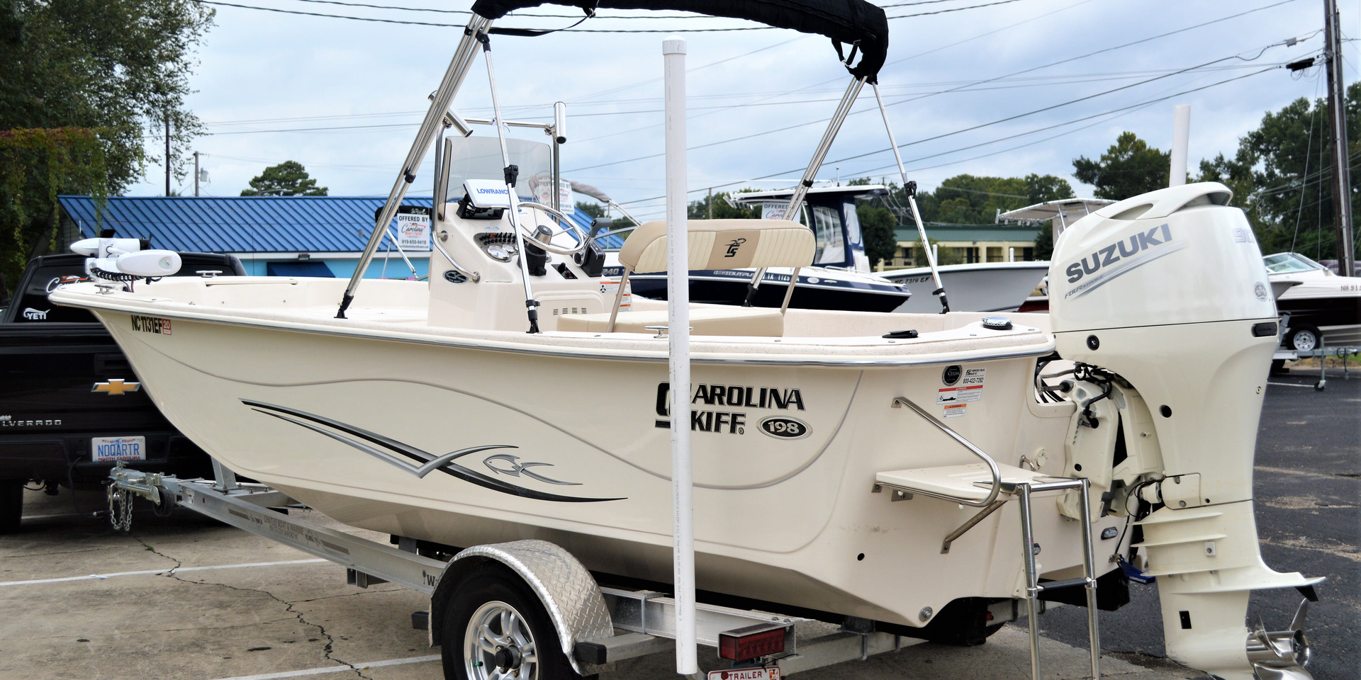 Carolina Skiff 198 DLV for Sale
