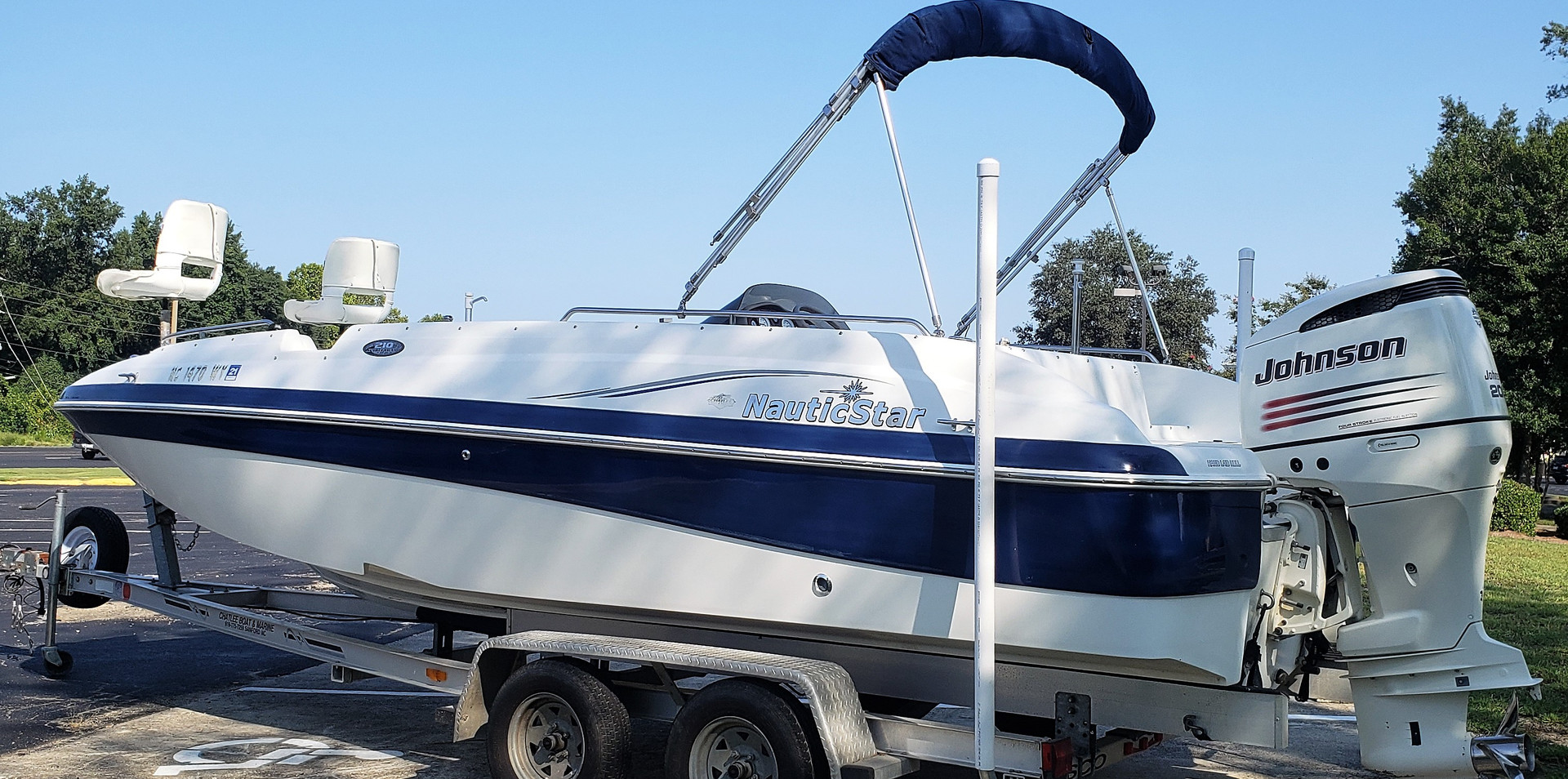Nautic Star 210 Deck Boat