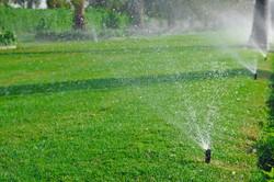 Pop up sprinkler system