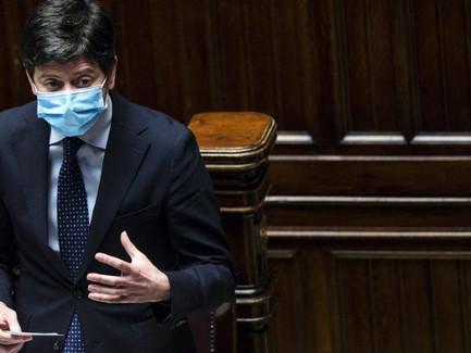 """وزير الصحة الايطالي بيار بولو سيليري أنه """"مع الإغلاق ومن دونه يبقى عدد المصابين بكورونا على ما هو."""