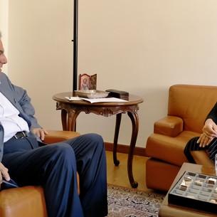 Roma – Presidente OEIL incontra ambasciatore Al Khazen