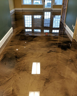 EPOXY FLOOR RESIDENTIAL IN MARYLAND, VIRGINIA AND WASHINGTONDC