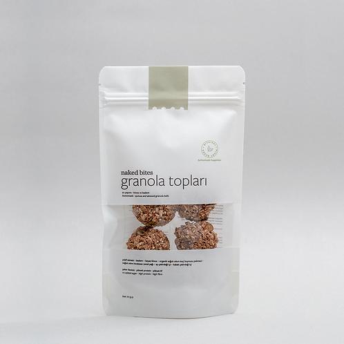 Granola Balls - Quinoa & Almond - 70 gr