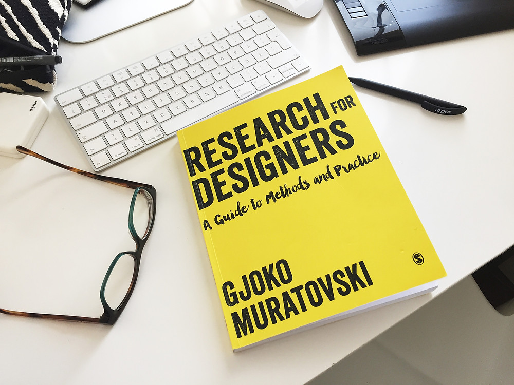 Researc for Designers book cover