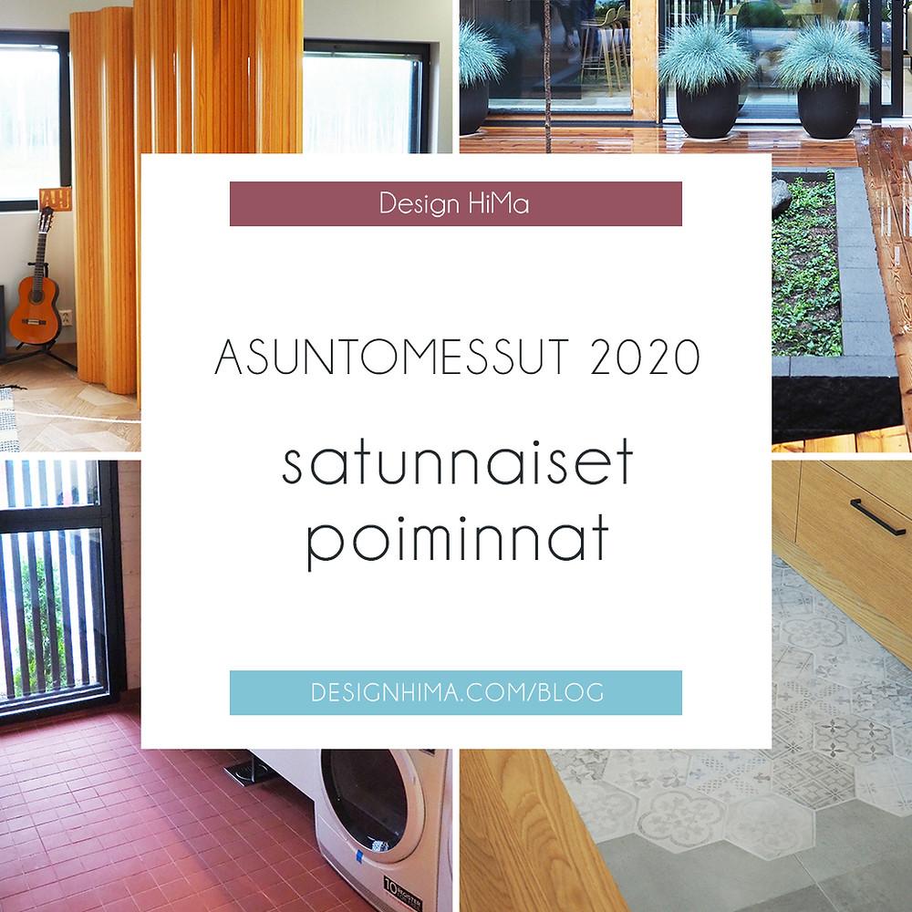 Asuntomessut 2020 satunnaiset poiminnat