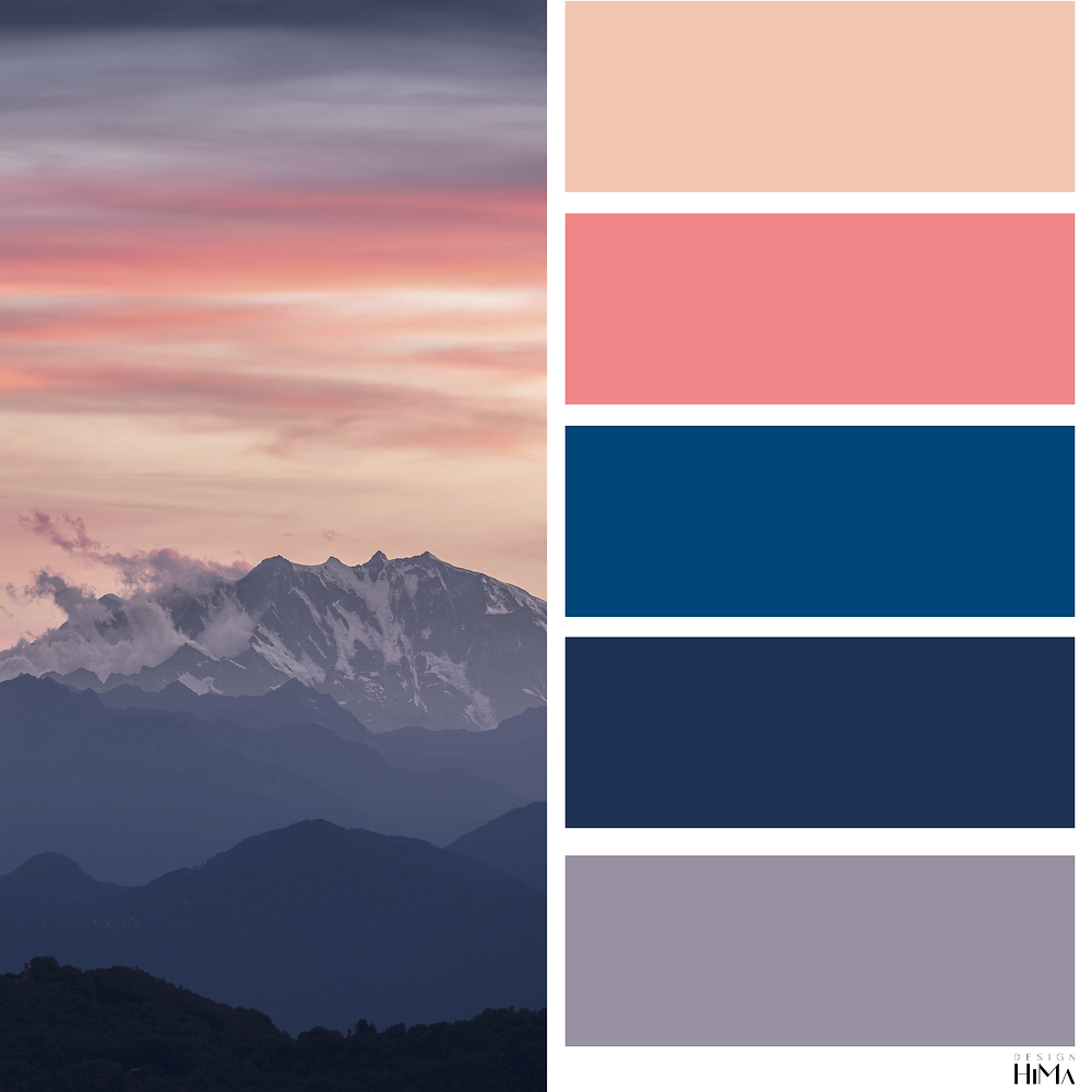 Classic Blue Sunset