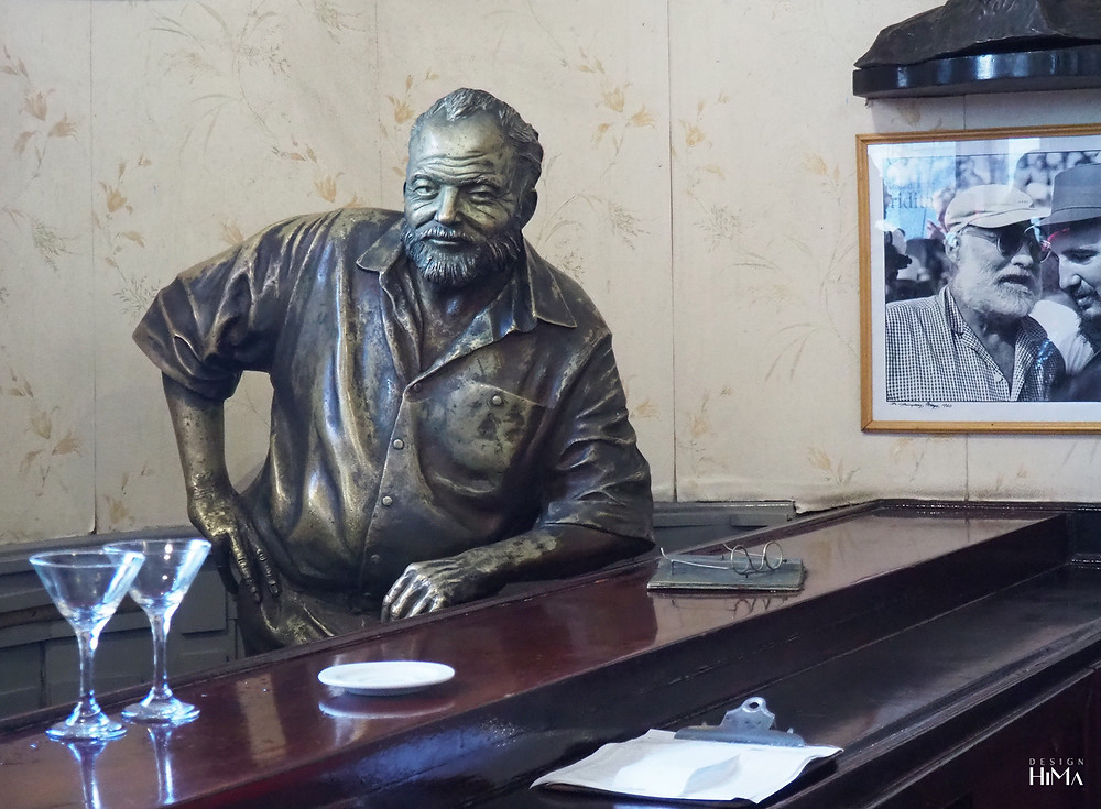 Ernest Hemingway La Floridata Havana