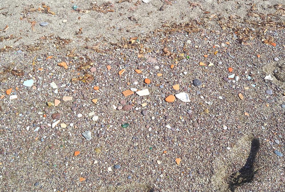 Maronti Beachin hiekkaa