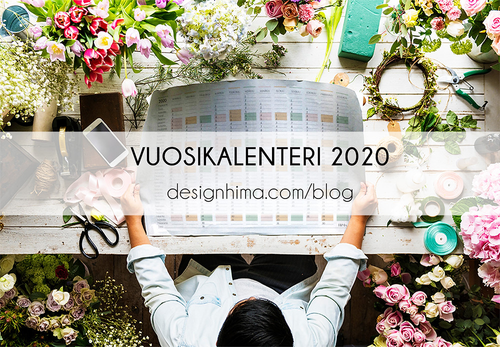 Design HiMa vuosikalenteri 2020