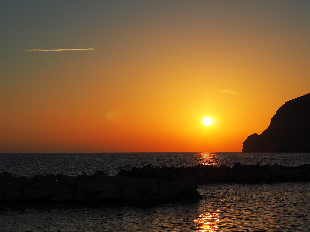 Sant'Angelo auringonlasku