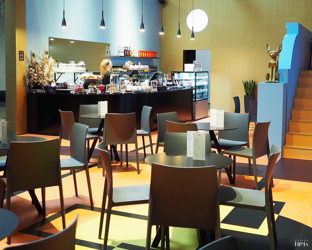 Le Chat Doré -kahvila rekonstruktio