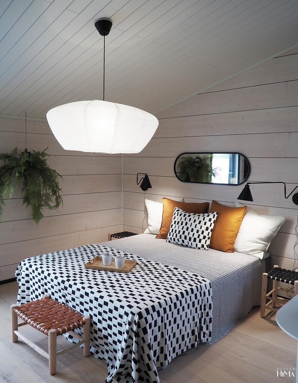 Linnamajuri makuuhuone