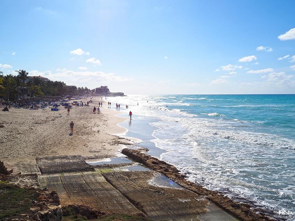 Kuuba Varadero hiekkaranta