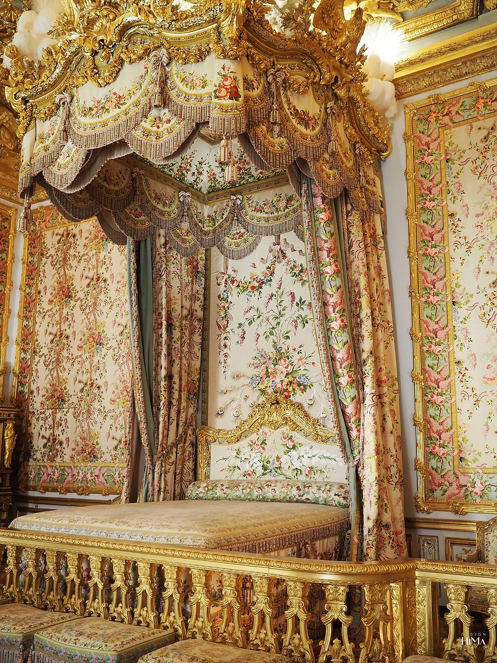 Versaillesin linna kuningattaren makuuhuone