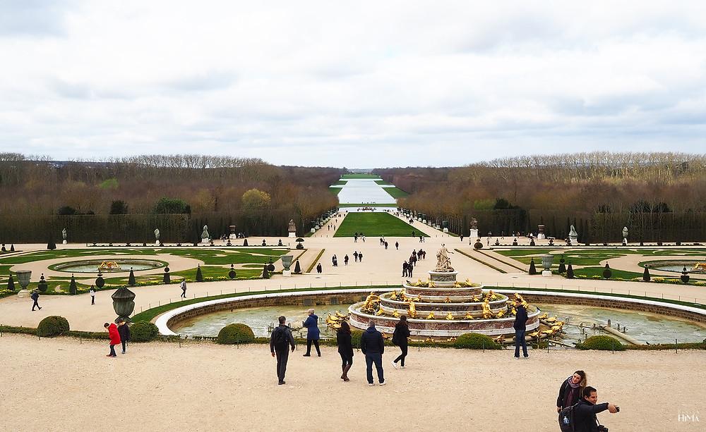 Versaillesin linnan puutarha