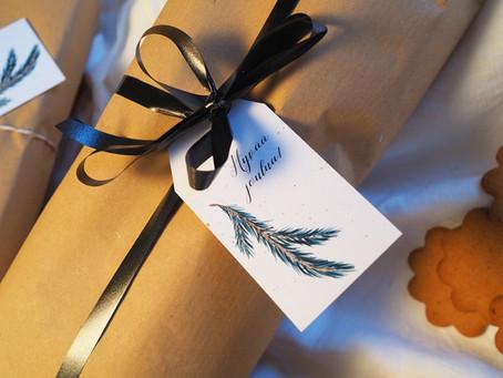 Joululahjani sinulle: itse printattavat pakettikortit
