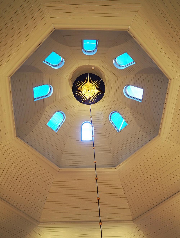 Korpilahden kirkko kupoli
