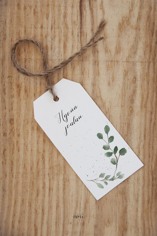 pakettikortti eucalyptus