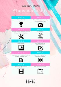 luovuushaaste free printable