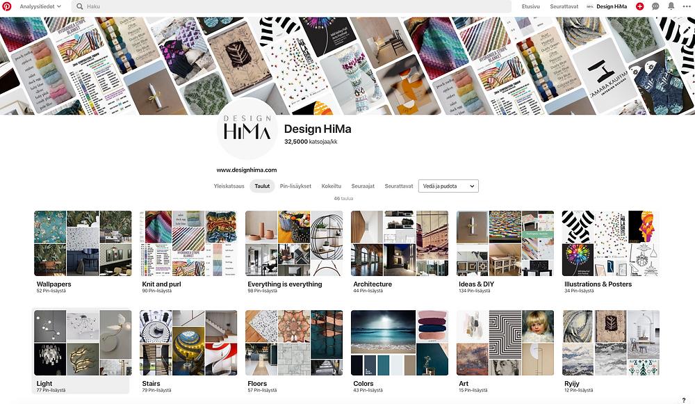 Design HiMa Pinterest