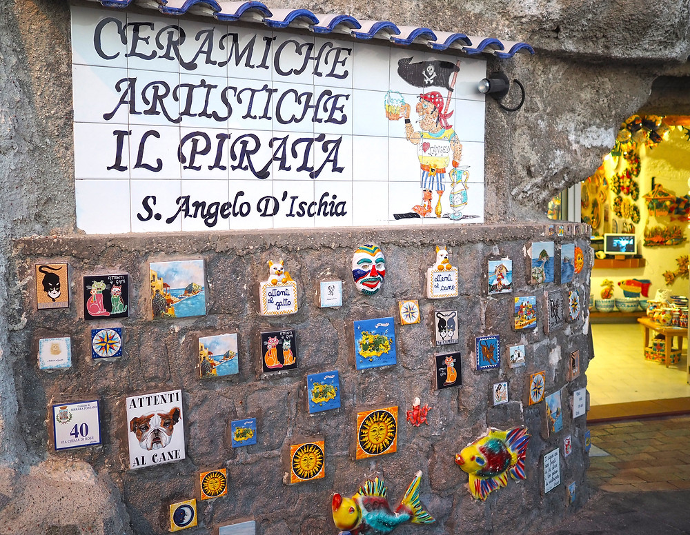 Sant'Angelo keramiikkaputiikki